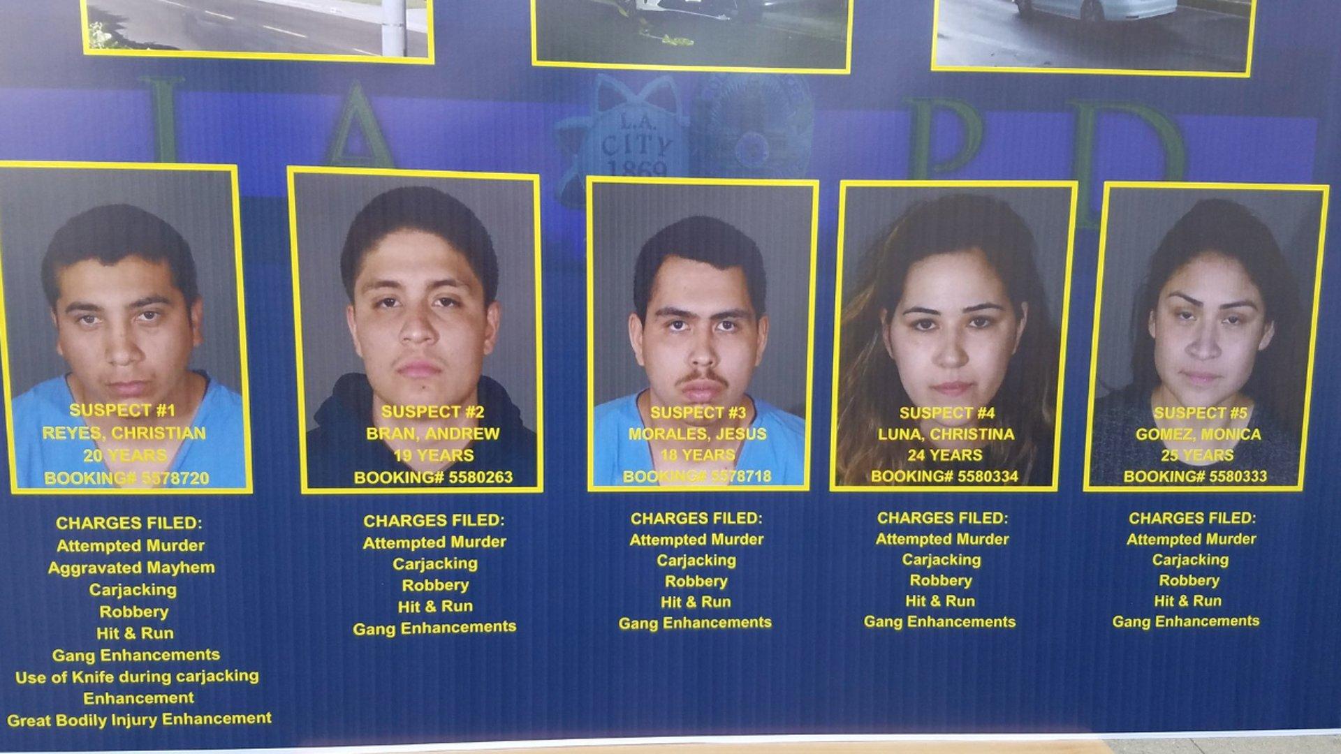 5 nghi can không nhận tội tấn công cô giáo gốc Việt lớp 1 tại Sunland, California
