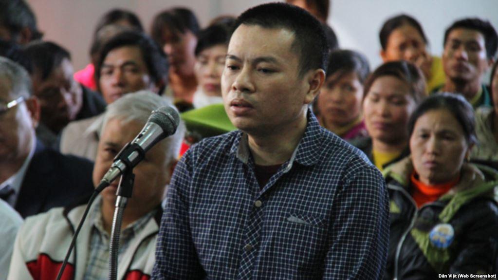 Giới hoạt động tiếp tục kêu gọi viết kháng thư phản đối án tử hình của Đặng Văn Hiến