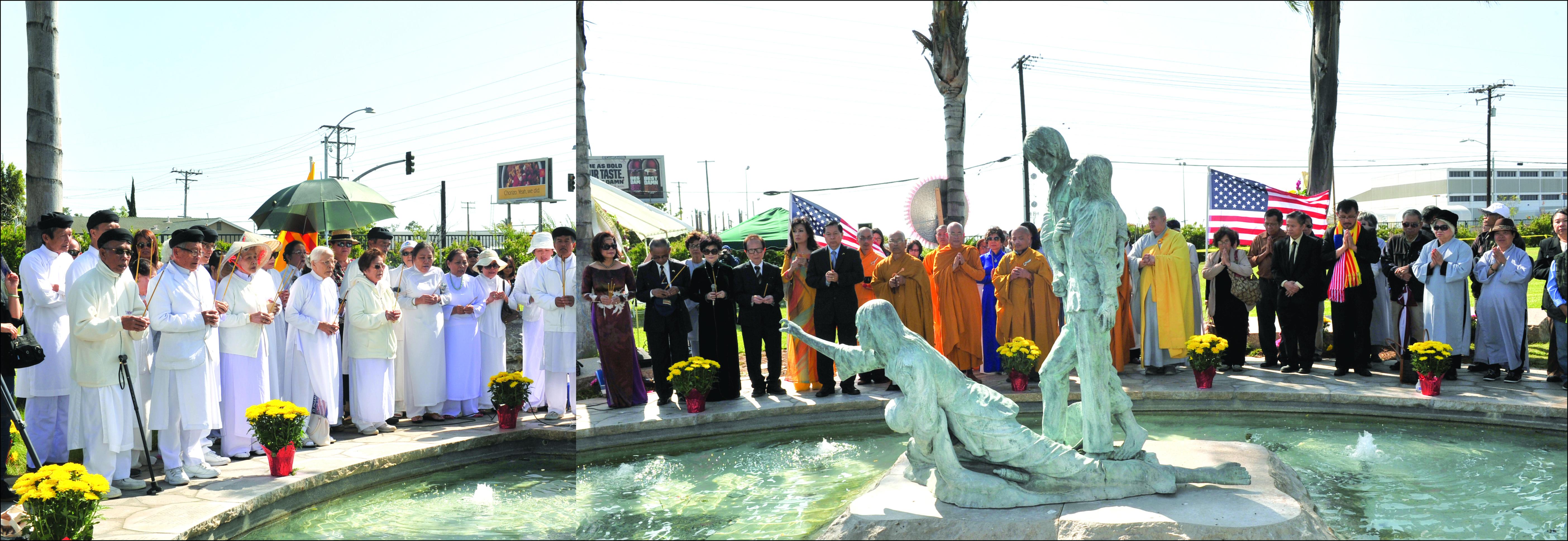 Kỷ niệm 10 năm ngày thành lập Đài Tưởng niệm Thuyền nhân Việt Nam