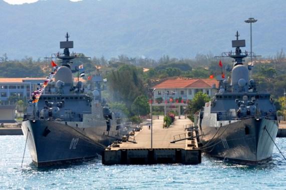 CSVN cùng tham gia tập trận trên biển với Trung Cộng