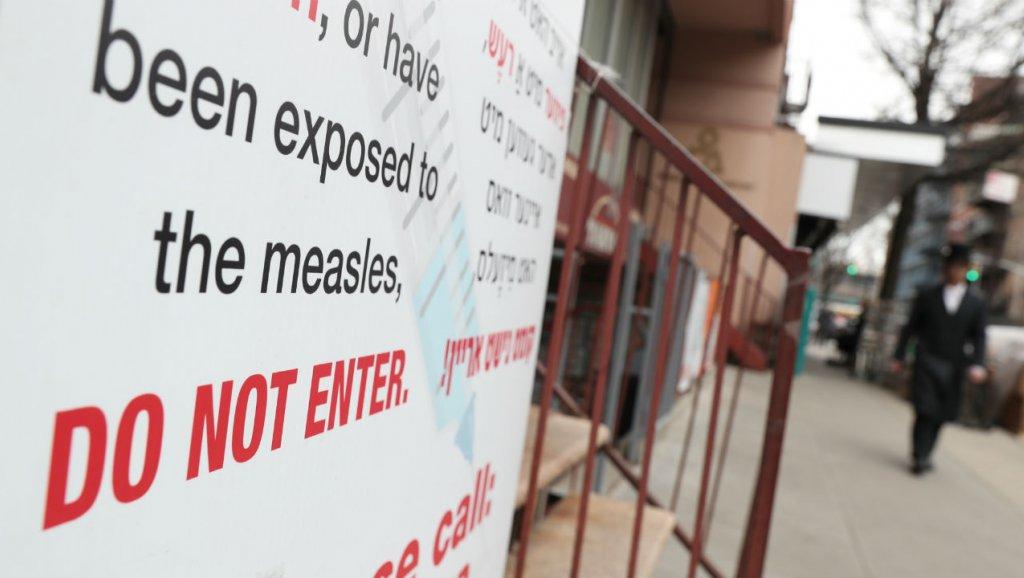Các trường hợp mắc bệnh sởi ở Hoa Kỳ đạt con số cao nhất kể từ năm 2000