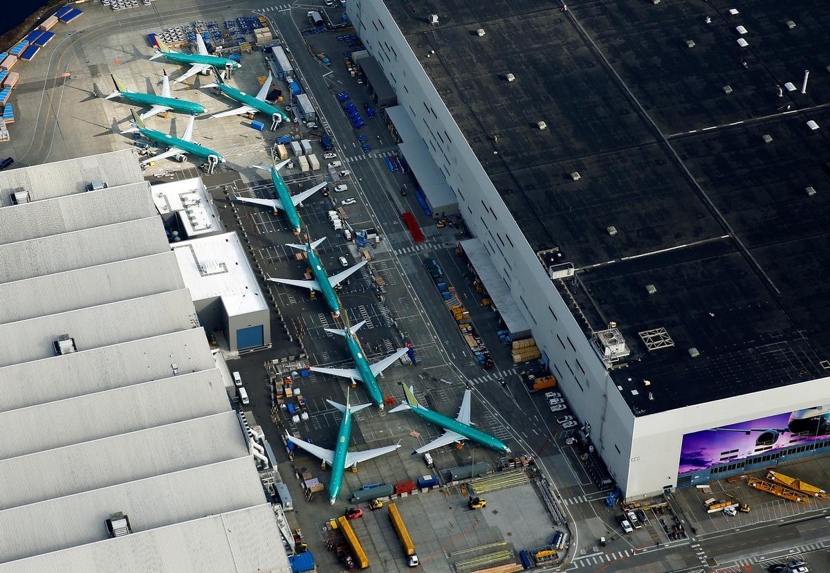 Boeing cắt giảm sản xuất phi cơ 737 MAX