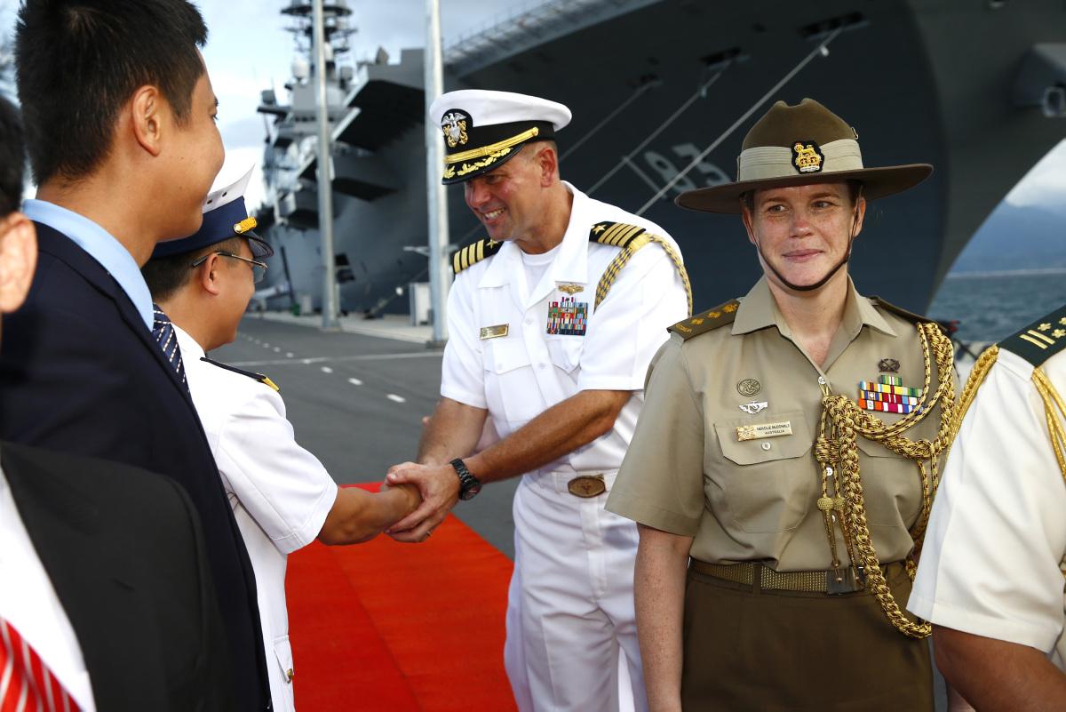 Chỉ huy trưởng Bộ tư lệnh Ấn Độ – Thái Bình Dương của Hoa Kỳ lần đầu tiên công du Việt Nam
