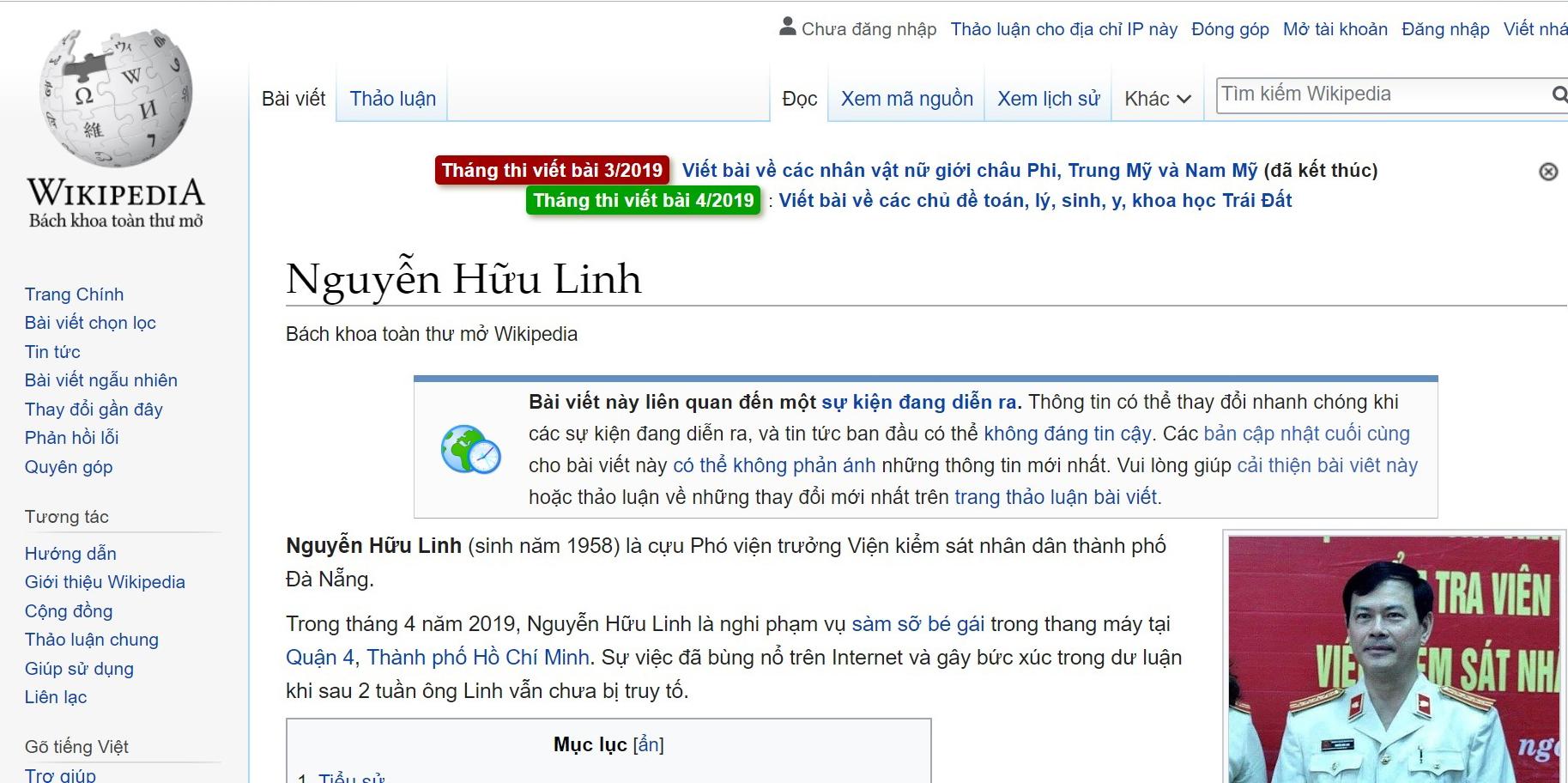 """Viện phó Viện kiểm sát Đà Nẵng tấn công tình dục bé gái được """"xướng tên"""" trên Wikipedia"""