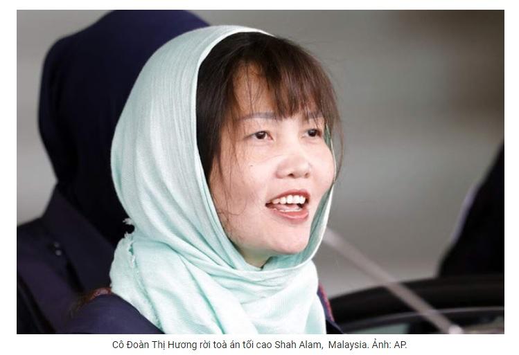 Vụ án Đoàn Thị Hương, một phần câu chuyện cần nhìn lại (Minh Hải)