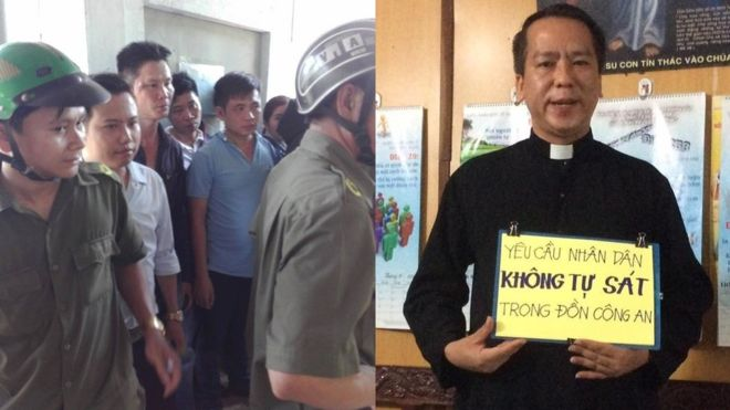 Linh mục Nguyễn Duy Tân bị chuyển đến nơi không giáo dân vì phản đối Formosa