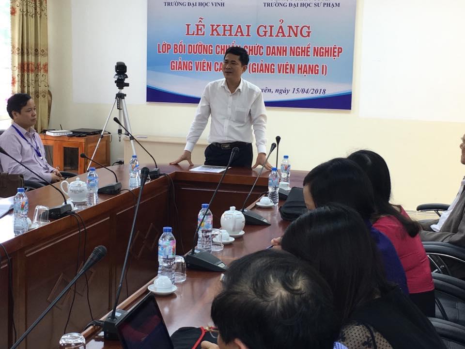 Giáo sư muốn đi dạy ở Việt Nam phải thi đậu lớp bồi dưỡng nghiệp vụ sư phạm
