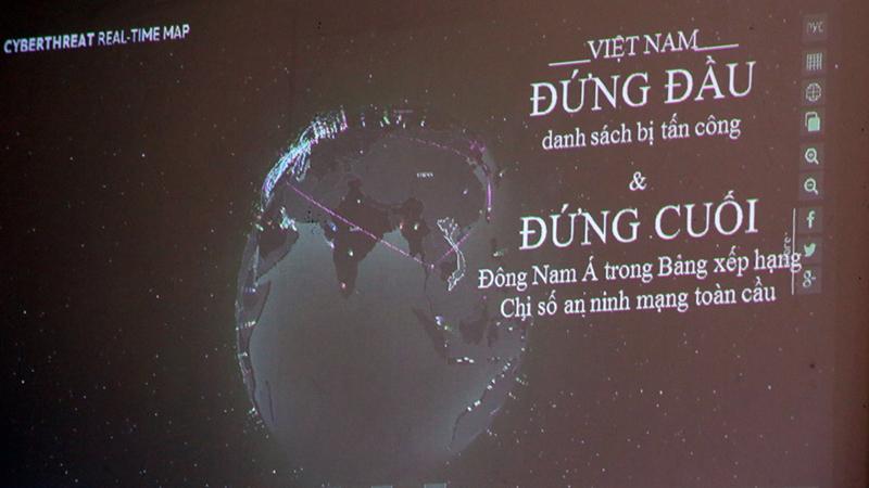 Việt Nam đứng đầu Đông Nam Á về các cuộc tấn công mạng, nhưng lại xếp chót bảng về chỉ số bảo vệ mạng