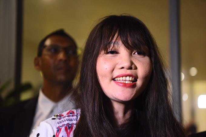 Đoàn Thị Hương có thể bị cấm nhập cảnh Malaysia vô thời hạn