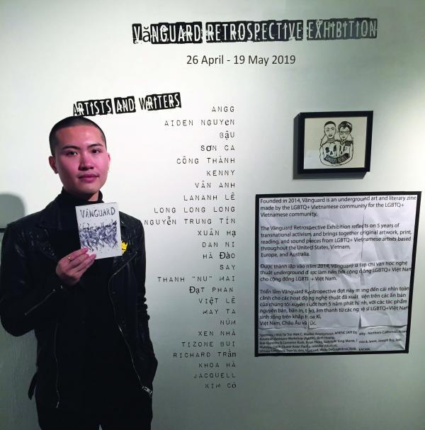 Triển lãm tranh ảnh của các nghệ sĩ đồng tính gốc Việt nam tại Boston