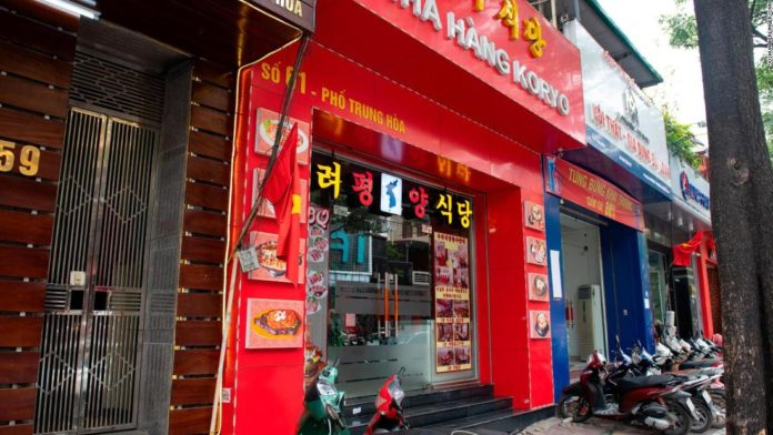 Công ty Bắc Hàn mở nhà hàng tại Hà Nội trá hình để bán nhu liệu quốc phòng, vi phạm lệnh cấm vận của Liên Hiệp Quốc