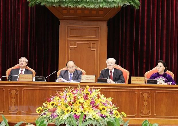 Đảng CSVN họp hội nghị trung ương chuẩn bị cho đại hội đảng năm 2021