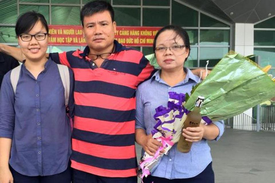 Cựu tù nhân lương tâm Trương Duy Nhất bị cáo buộc tội danh an ninh quốc gia?