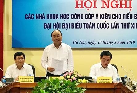 Nguyễn Xuân Phúc không muốn để mất chế độ