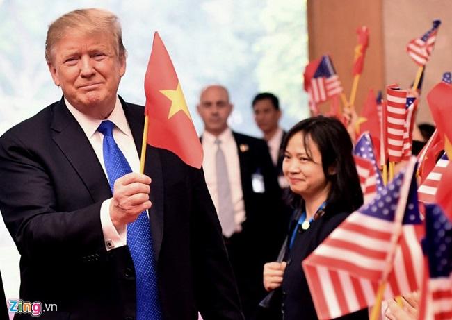Thổng thống Trump khiến truyền thông CSVN vui sướng khi hai lần nhắc tên Việt Nam