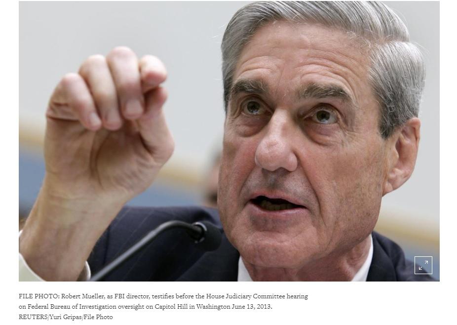 Robert Mueller từng than phiền về bản tóm tắt báo cáo điều tra của Bộ Trưởng Tư Pháp