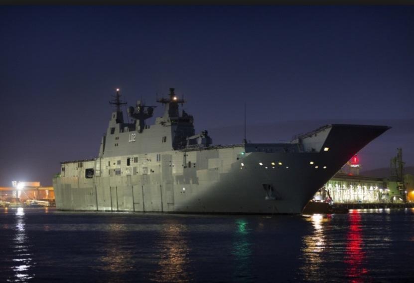Chiến hạm hải quân Úc ghé Việt Nam thắt chặt bang giao trong lĩnh vực quốc phòng