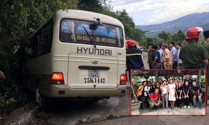 12 sinh viên Singapore bị thương vì tai nạn xe buýt ở Việt Nam