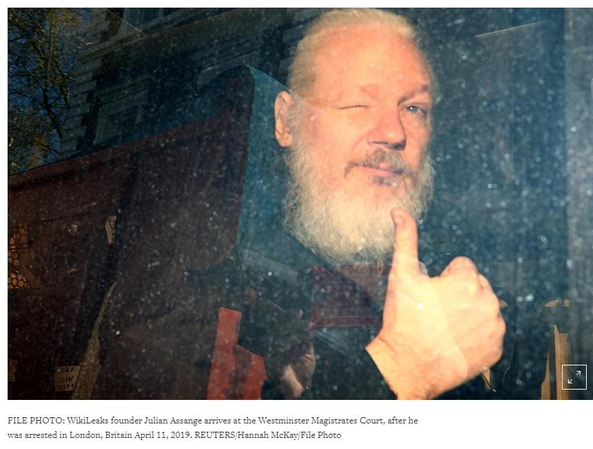 Yêu cầu dẫn độ Julian Assange của Hoa Kỳ sẽ được quyết định trong phiên tòa 2 tháng 5 2019