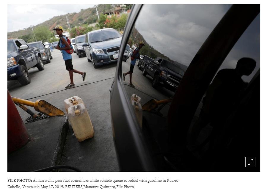 Quân đội Venezuela giám sát việc phân phối nhiên liệu