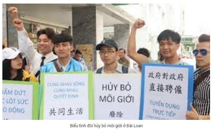 Thấy gì từ cuộc họp báo của công nhân Việt Nam tại Đài Bắc ngày 5 tháng 5? (Kiều Phong)