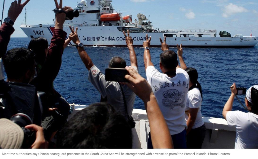 Trung Cộng công bố kế hoạch đóng tàu hải giám để tuần tra tại Biển Đông
