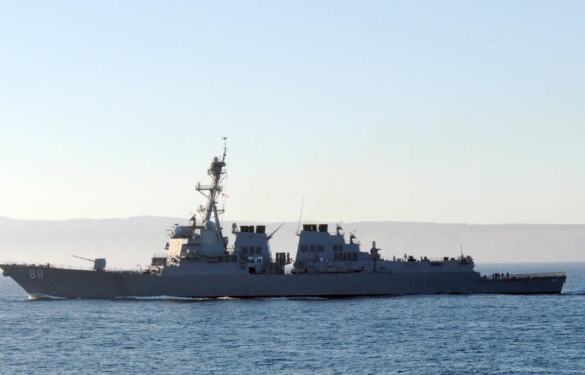 Tàu Hải Quân Hoa Kỳ áp sát bãi cạn Scarborough tại Biển Đông