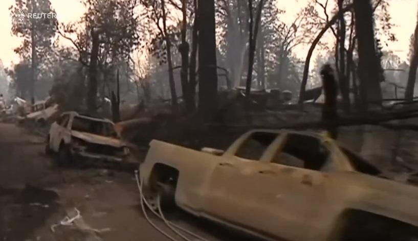 Đường dây điện của công ty PG&E là nguyên nhân vụ cháy rừng lớn nhất California