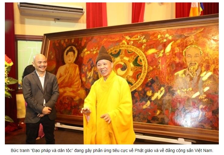 Cổ động Phật Giáo để nịnh bợ đảng cộng sản! (Trúc Giang)