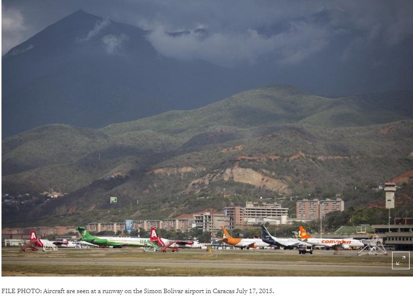 Hoa Kỳ ra lệnh đình chỉ các chuyến bay giữa Hoa Kỳ và Venezuela