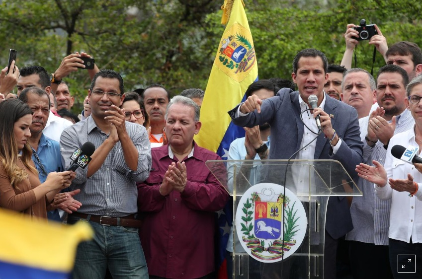 Juan Guaido tìm sự hợp tác của Ngũ Giác Đài nhằm giải quyết khủng hoảng chính trị