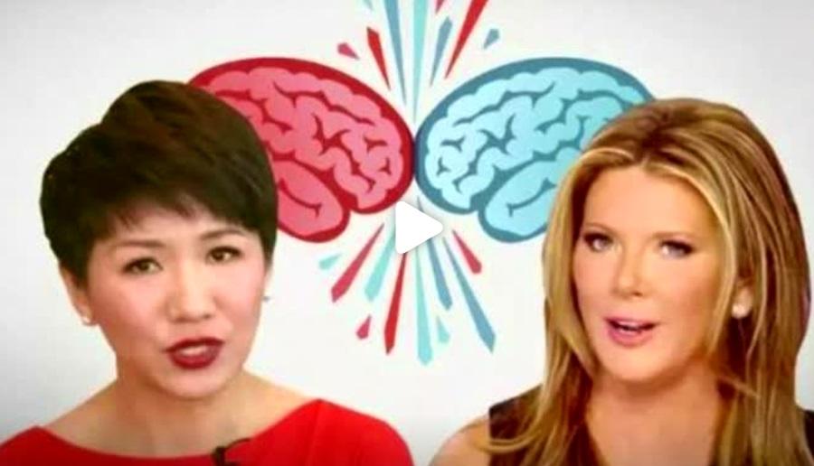 Ký giả truyền hình Trung Cộng và Hoa Kỳ tranh luận về vấn đề chiến tranh thương mại
