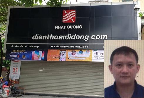 Tổng giám đốc Nhật Cường Mobile Bùi Quang Huy bị truy nã