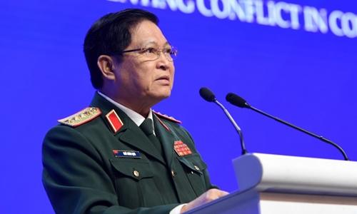 Tại Shangri-LA, bộ trưởng quốc phòng CSVN muốn giải quyết song phương với Trung Cộng