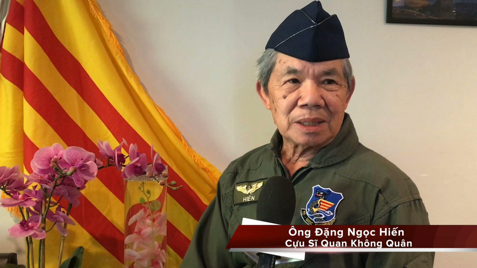 Cựu sĩ quan không quân VNCH Đặng Ngọc Hiến nói về ngày quân lực VNCH