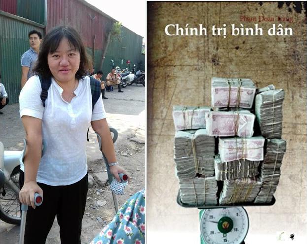 Phạm Đoan Trang bị truy đuổi, Cao Vĩnh Thịnh bị tra vấn về sách dân quyền