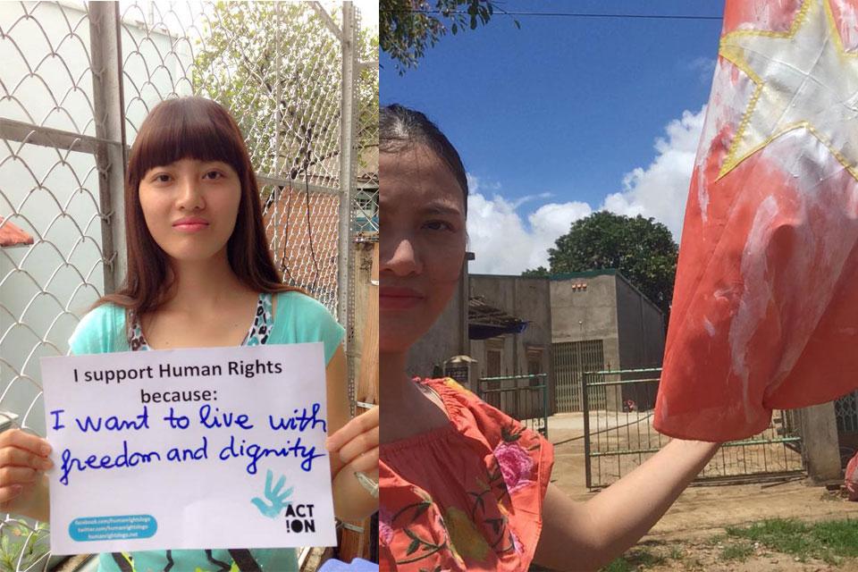 Nhà hoạt động Huỳnh Thục Vy bị phạt hành chính vì chuyện sinh nở