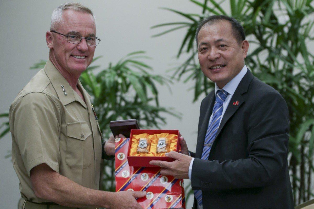 Hoa Kỳ công bố ảnh chụp tướng Đài Loan tại hội nghị quân sự Ấn Độ – Thái Bình Dương