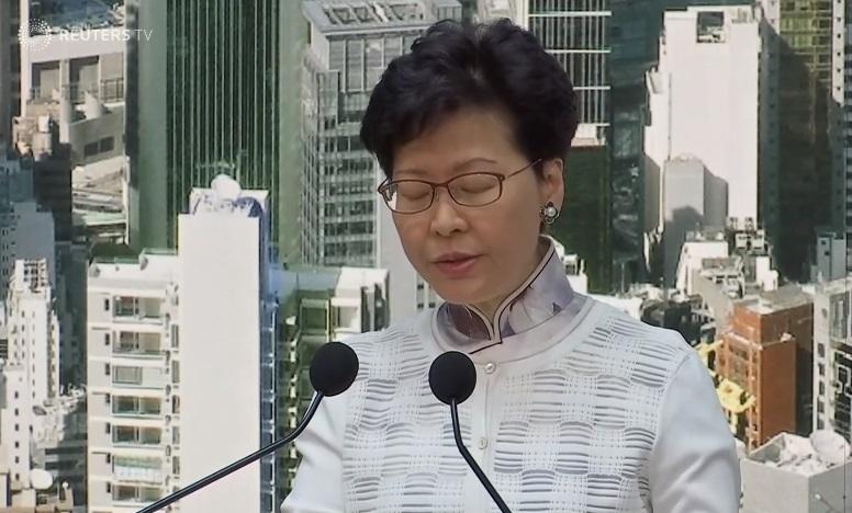Biểu tình Hong Kong thành công: Carrie Lam đình chỉ vô thời hạn dự luật dẫn độ