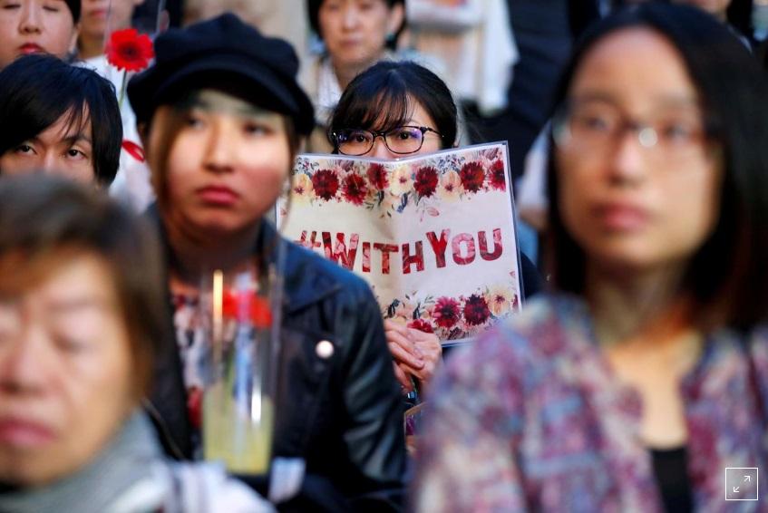 Các nạn nhân nạn lạm dụng tình dục Nhật yêu cầu cải cách luật chống hiếp dâm