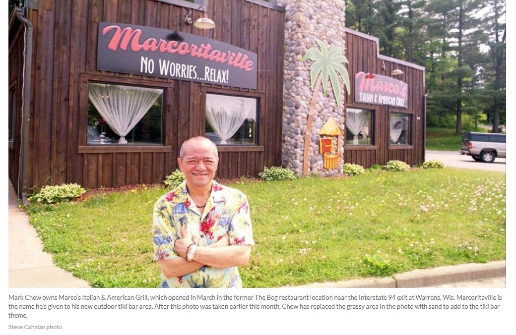 Người đàn ông gốc Việt làm chủ 5 nhà hàng Ý ở thành phố Warrens
