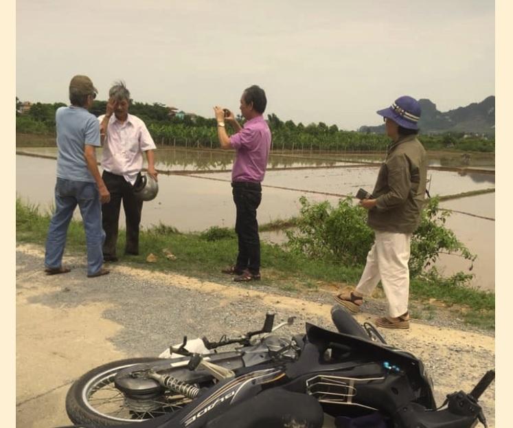 Mật vụ Hà Nam chặn xe, đánh đập nhà hoạt động Trương Minh Hưởng