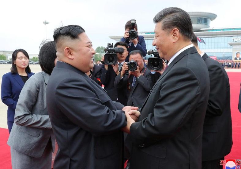 Bắc Hàn và Trung Cộng đồng ý củng cố quan hệ, bất kể tình hình quốc tế