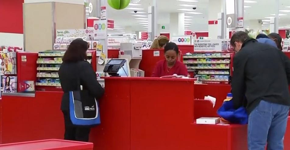 Máy tính tiền tại Target hoạt động bình thường sau khi gặp lỗi hệ thống