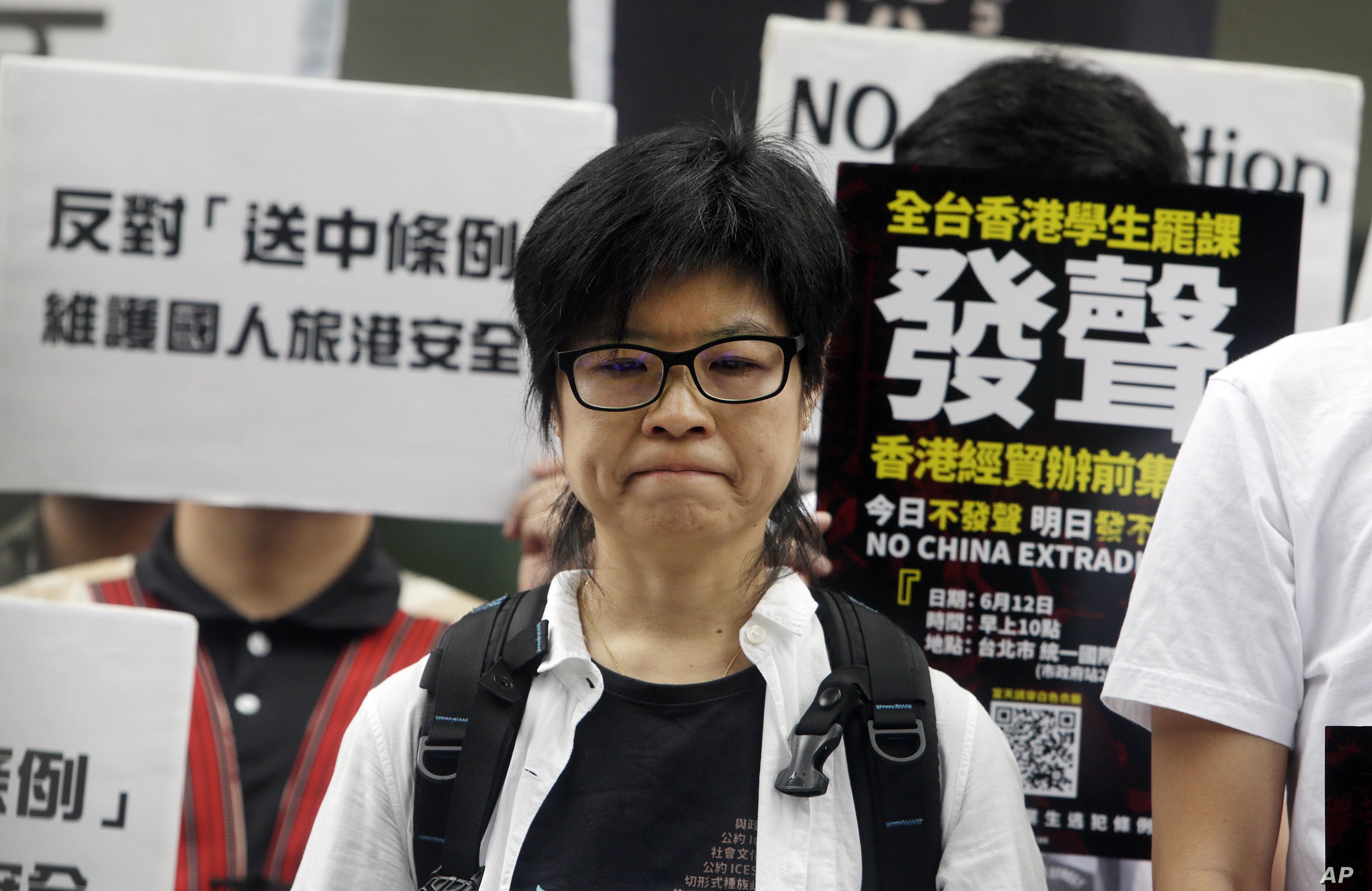Người dân Đài Loan xuống đường để ủng hộ cuộc biểu tình tại Hồng Kông