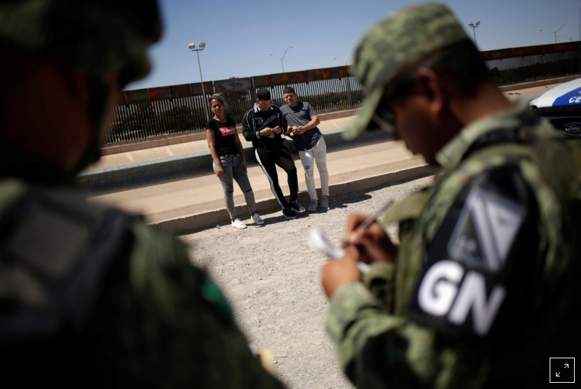 Mexico huy động 15,000 binh sĩ ở phía bắc để ngăn chặn di dân đến Hoa Kỳ