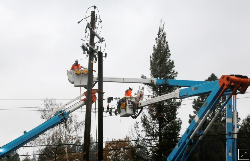 PG&E trả 1 tỷ USD để giải quyết khiếu nại cháy rừng của các địa phương California