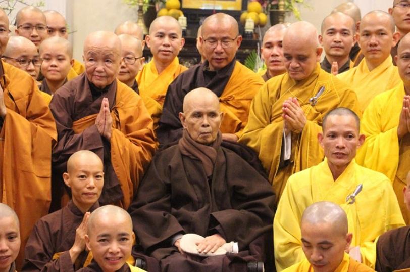 Thiền Sư Thích Nhất Hạnh được trao giải thưởng Hoà Bình Luxembourg