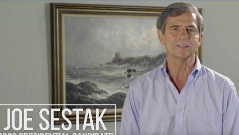 Cựu dân biểu Dân Chủ Joe Sestak tuyên bố tranh cử tổng thống