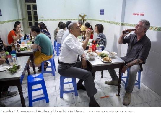Thế giới ẩm thực Việt Nam tưởng nhớ đầu bếp Hoa Kỳ Anthony Bourdain
